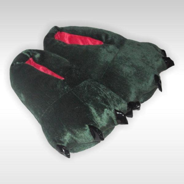 Тапки-лапки Зеленые