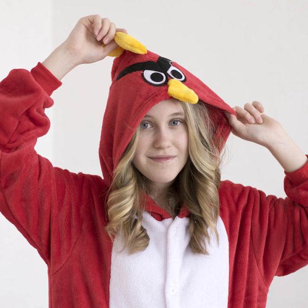 Кигуруми Злая птичка из Angry Birds