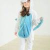Кигуруми детский Бело-голубой единорог