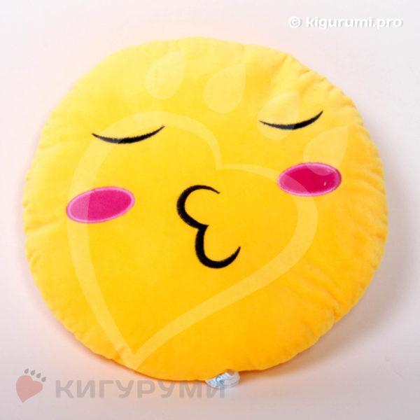 Подушка-смайлик Чмок